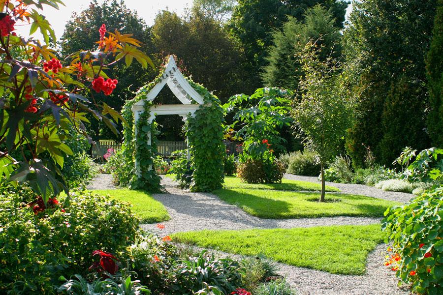 John forti s garden designs for Victorian garden designs